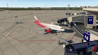 [X-Plane 11]Внуково - Пулково | Toliss A319