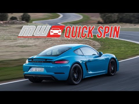 2018 Porsche 718 Boxster and Cayman GTS | Quick Spin