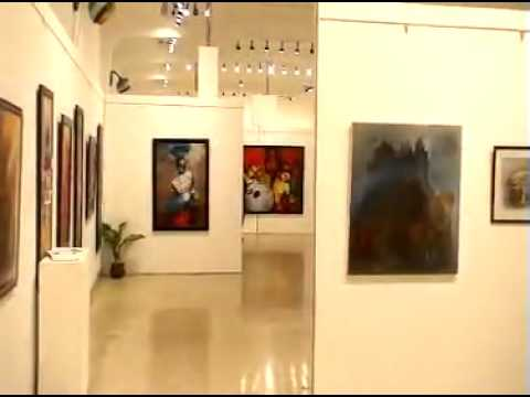 MOST Famous JEHANGIR ART Gallery - Mumbai