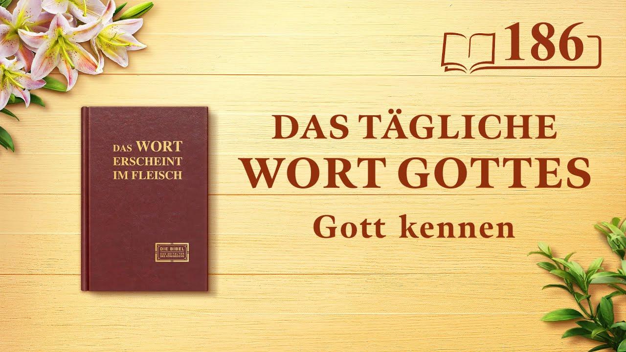 """Das tägliche Wort Gottes   """"Gott Selbst, der Einzigartige IX""""   Auszug 186"""