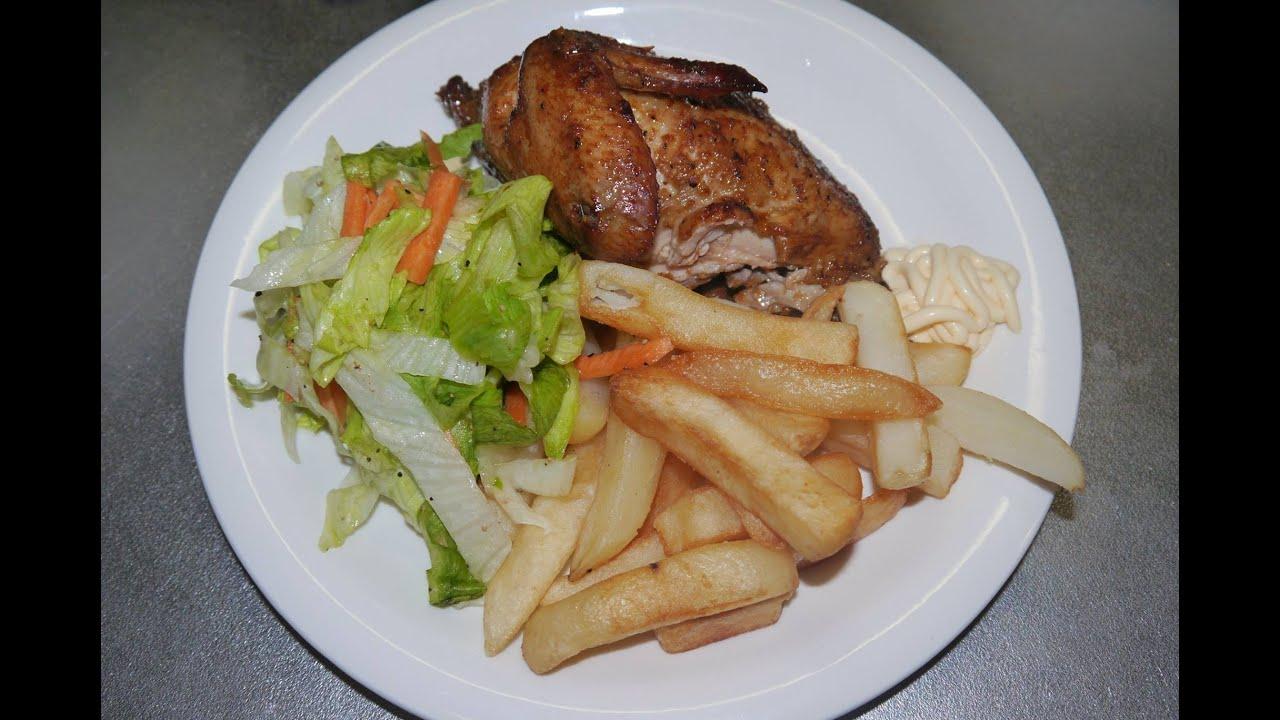 Resultado de imagen de pollo a la brasa receta peruana