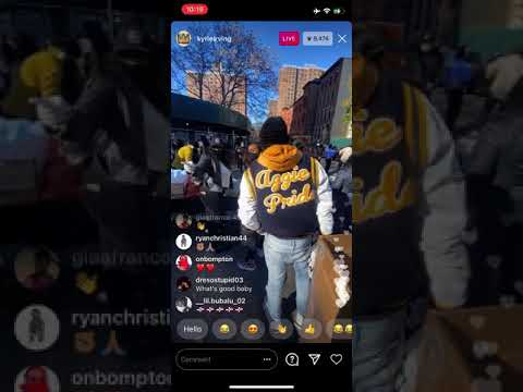 Kyrie Irving Contemplating & Enjoying The Bronx Life! With Family