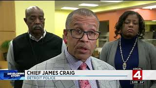6 Detroit police officers charged in extortion scandal