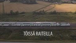 Töissä Raiteilla - junan matka Helsingistä Rovaniemelle