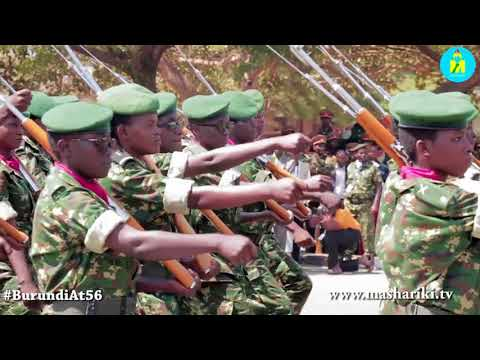 Burundi: Celebration of the 56th anniversary of its independence