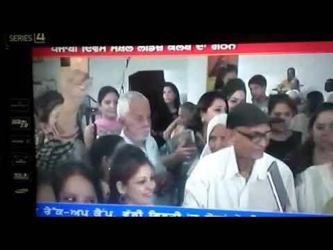 Charity at Vivekananda old age home by Punjabi divas social ladies club