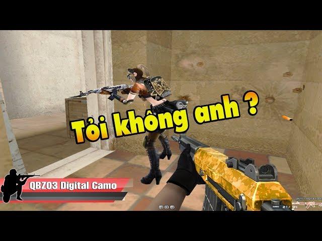 [ Bình luận CF ] QBZ-03 Digital Camo  - Quang Brave