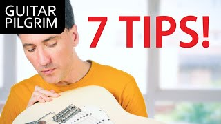 7 MUST KNOW GUÏTAR SOLO TIPS!!
