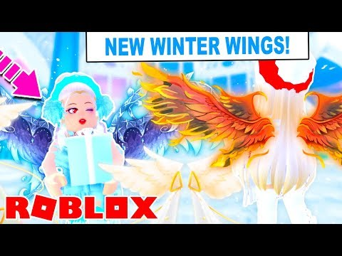 NEW CHRISTMAS WINTER WINGS In Royale High! LEAKED Concepts! (Roblox Royale High)