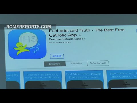 Teenager designs new app with unique resources for Catholics