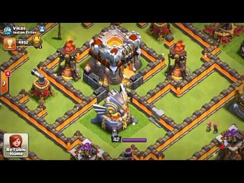 Clash of clans account giveaway TH 11 TITAN account