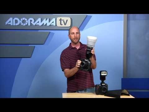 Flash Modifiers:Product Reviews: Adorama Photography TV