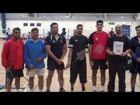 KBS & ABZ Badminton Tournament 2016 At Preston's College (Azam Sharif & Rashid Riaz) Champions