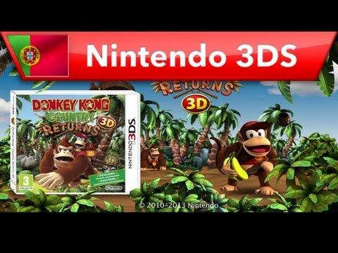 Donkey Kong Country Returns 3D - Trailer de lançamento (Nintendo 3DS)