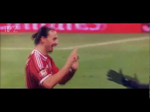 Zlatan Ibrahimovic - The Magic Man - A.C Milan 2011/12 HD