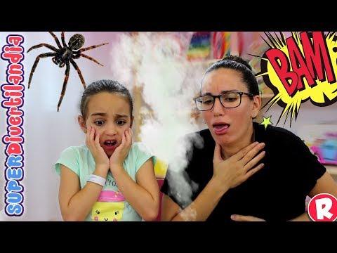 Artículos de bromas 2! Andrea y Raquel en SUPERDivertilandia.