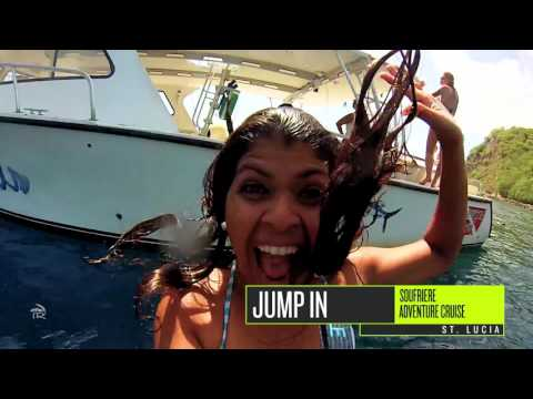 Soufriere Adventure Catamaran Cruise in St. Lucia with Island Routes