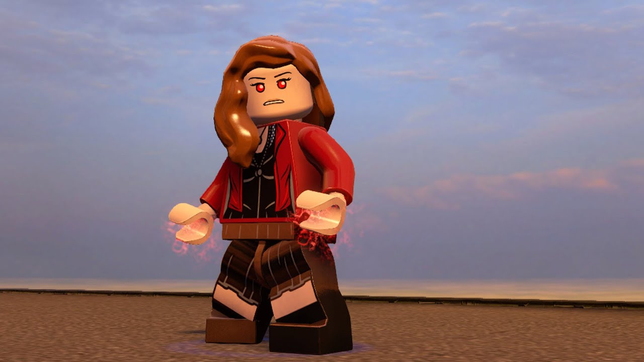 LEGO Marvels Avengers  Scarlet Witch  Free Roam Gameplay PC HD