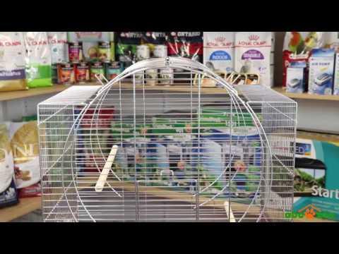 Parrot Cage Emma Cabrio Chrome
