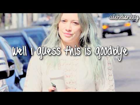 Hilary Duff - Breathe In. Breathe Out (Lyrics HD)