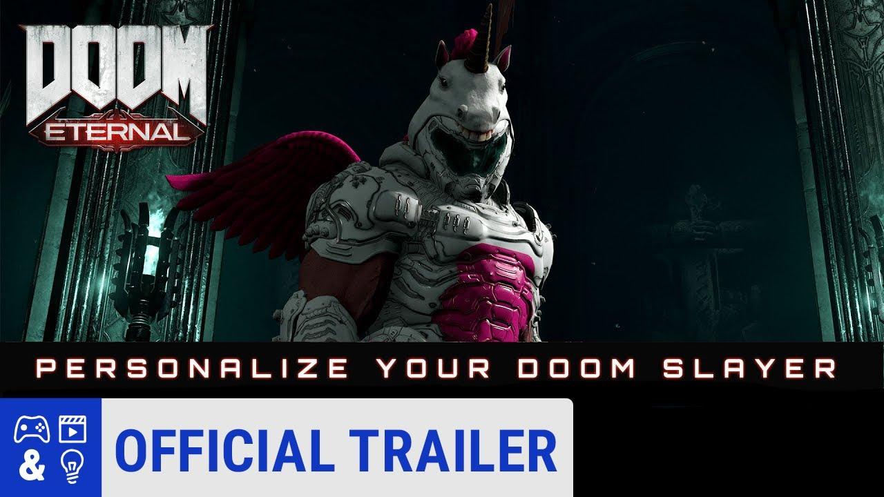 You Can Dress Doom Slayer As A Unicorn In Doom Eternal