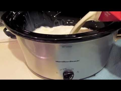 Crockpot Yogurt Youtube