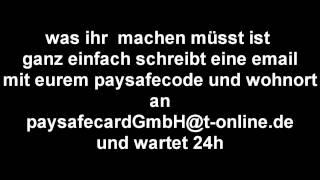 Paysafecard kostenlos erhöhen!!!! (funktioniert WIRKLICH!)