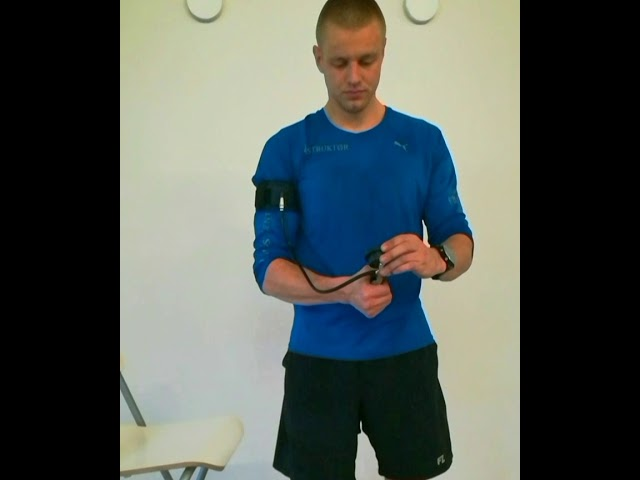 Fit Cuffs - Occlusion Training: How to attache and inflate the Arm Cuff