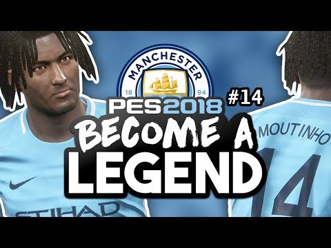 "BECOME A LEGEND! #14|PES 2018! | ""FIRST HAT-TRICK FOR THE CLUB?!"""