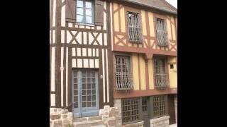 Maisons à colombages de Domfront (Orne)