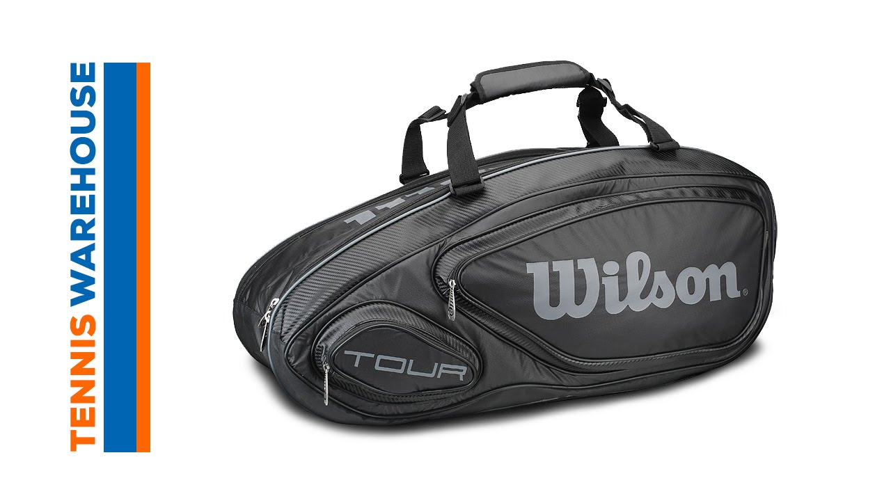 6558a1079c Wilson Tour V 9 Pack Bag. Tennis Warehouse
