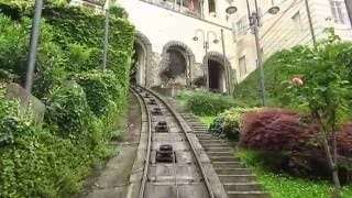 Funicular, Bergamo,  from Lower Town to Upper Town, THU, 09.06.2016.