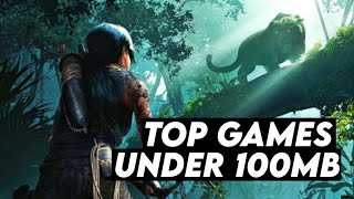 Top 5 Games Under 100mb For PC | Highly Compressed Games | 2018 | For Free | By Extreme World