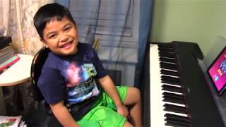 "6-Year-Old Renzo Plays ""Happier"" with Simply Piano by JoyTunes"