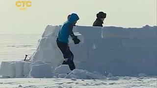 Домик из снега                                                      СТС-МИР.