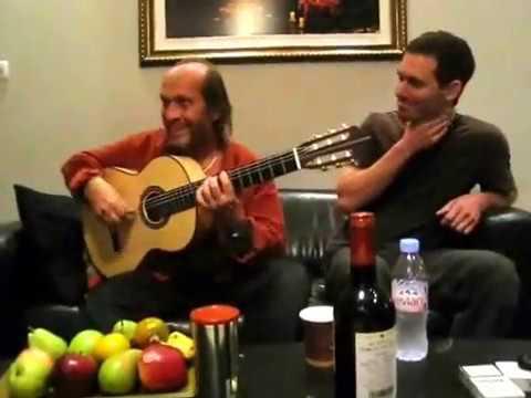 Paco de Lucia plays an Erez Perelman Flamenco Guitar Part 1