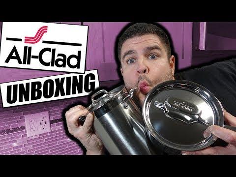 All Clad Cookware Unboxing | Asparagus Pot & 1.5 QT Sauce Pan