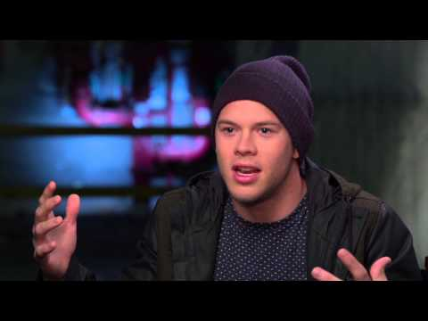 """22 Jump Street: Jimmy Tatro """"Rooster"""" Behind the Scenes Movie Interview"""