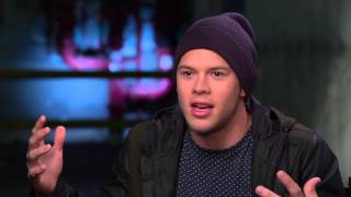 22 Jump Street: Jimmy Tatro Rooster Behind the Scenes Movie Interview
