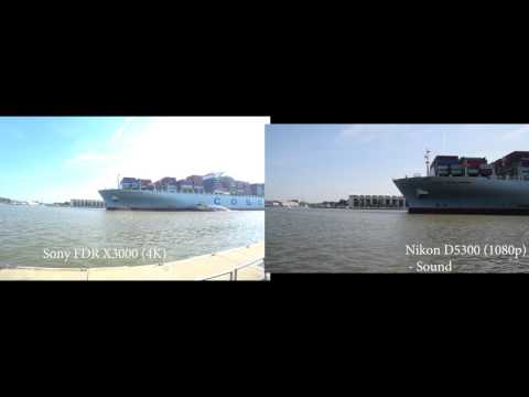 Savannah River Biggest Ship