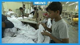 Mohammed werkt 6 dagen per week in een fabriek