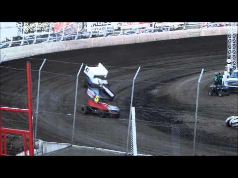 360 Sprint Heat 2 - Husets Speedway 8-24-14