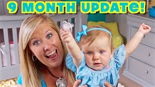 9 Month Update! - Scooting, Dancing, & Swimming