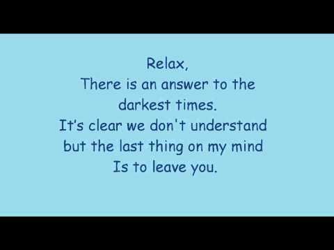 Mika relax- take it easy lyrics