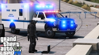 GTA 5 LSPDFR Police Mod 376 | LSPD Bomb Squad Disarming Explosives & Savings Citizens Of Los Santos