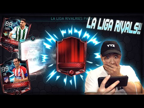 FIFA Mobile 18 La Liga Rivalries Are Here 89 Ovr Godin!! Rival Pack Opening Elite Pull!!