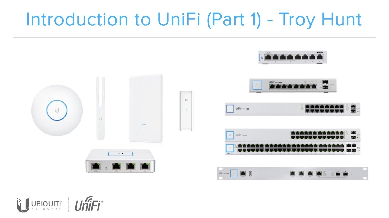 Linus Torvalds – Google+: Working gadgets: Ubiquiti UniFi collection