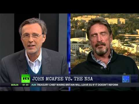 John McAfee vs.The NSA
