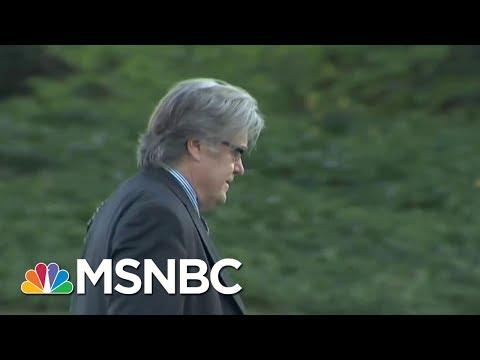 Former Briebart Editor Ben Shapiro: Steve Bannon Marginalized for Months   MSNBC