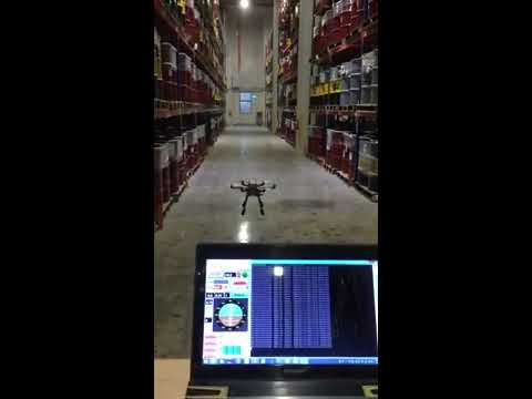 Fully Autonomous drones in warehouses for Stock-taking and Inventory Management